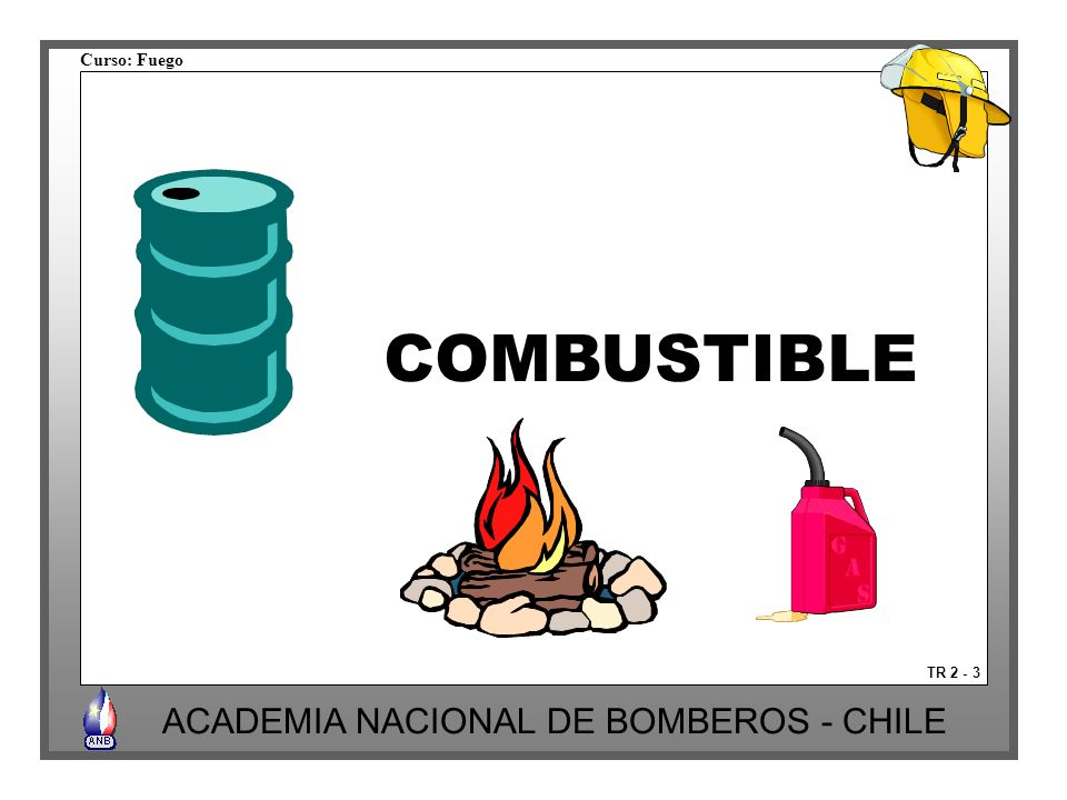 COMBUSTIBLE TR 2 - 3