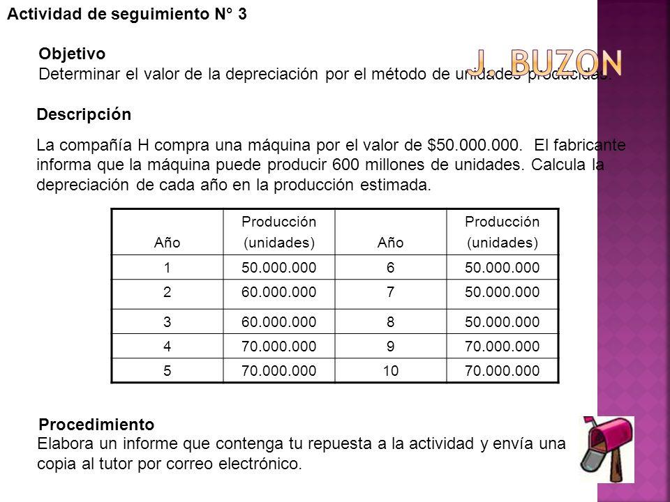J. buzon Actividad de seguimiento N° 3 Objetivo