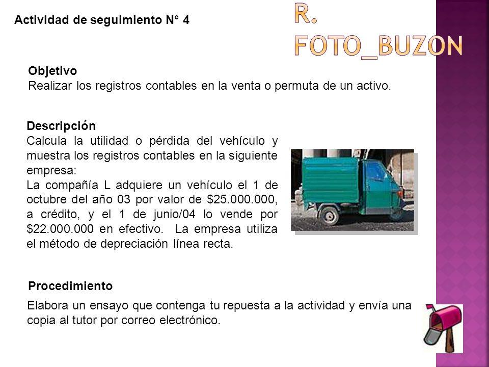R. Foto_buzon Actividad de seguimiento N° 4 Objetivo