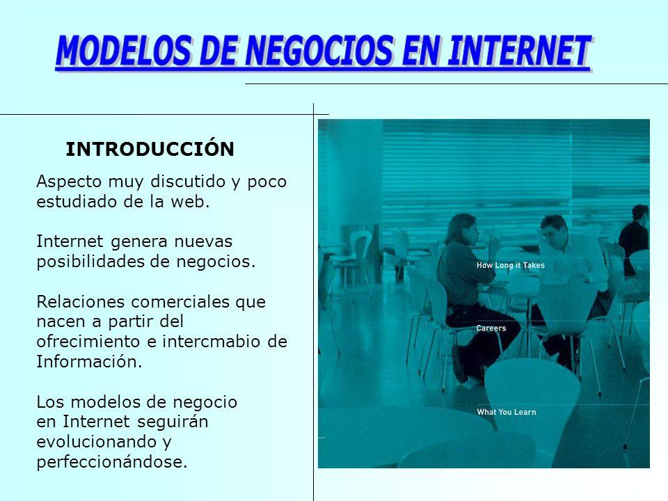 MODELOS DE NEGOCIOS EN INTERNET
