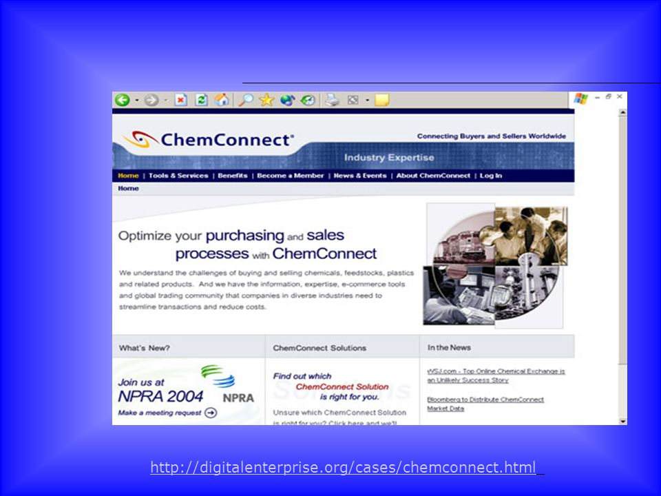 http://digitalenterprise.org/cases/chemconnect.html