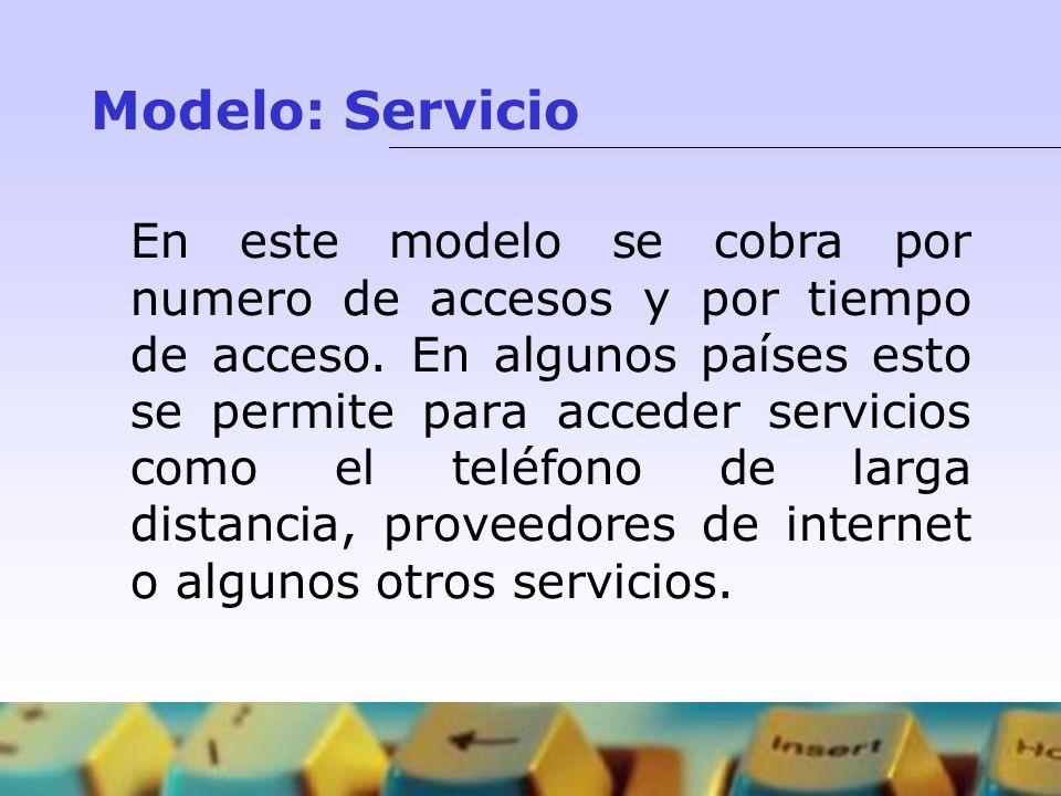 Modelo: Servicio