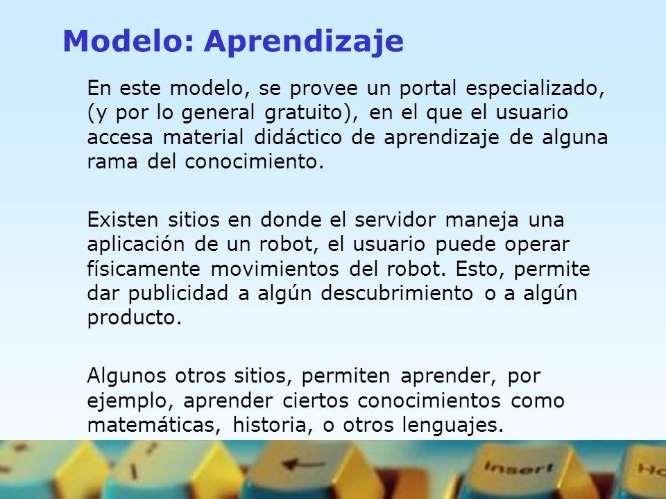 Modelo: Aprendizaje