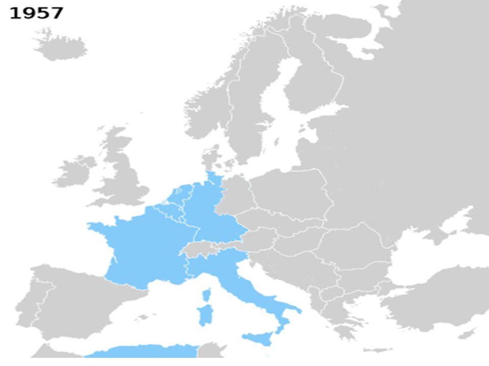 Alemania, Francia, Italia, paises bajos, Belgica, Luxemburgo.