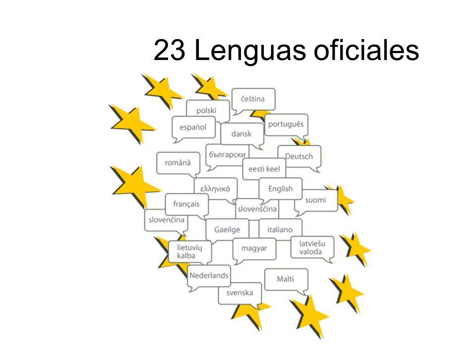 23 Lenguas oficiales 23