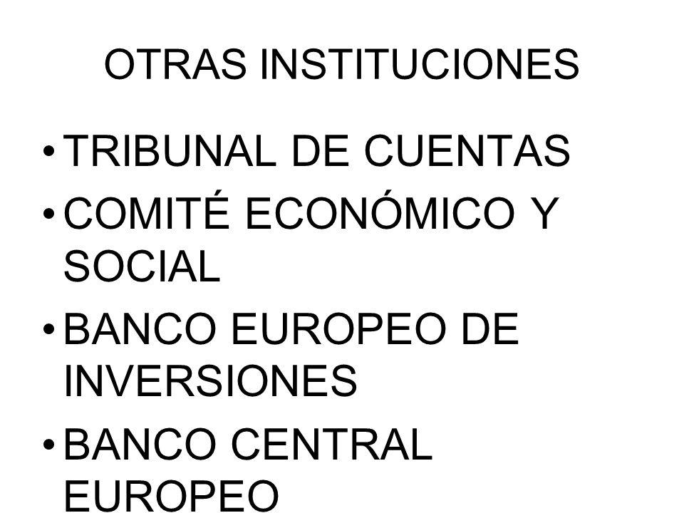 COMITÉ ECONÓMICO Y SOCIAL BANCO EUROPEO DE INVERSIONES