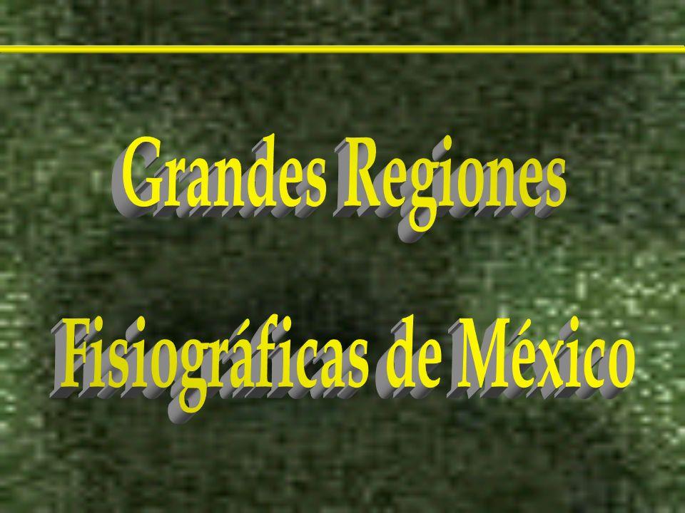 Fisiográficas de México