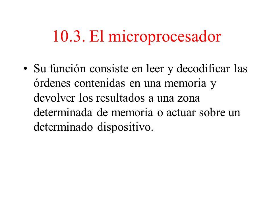 10.3. El microprocesador