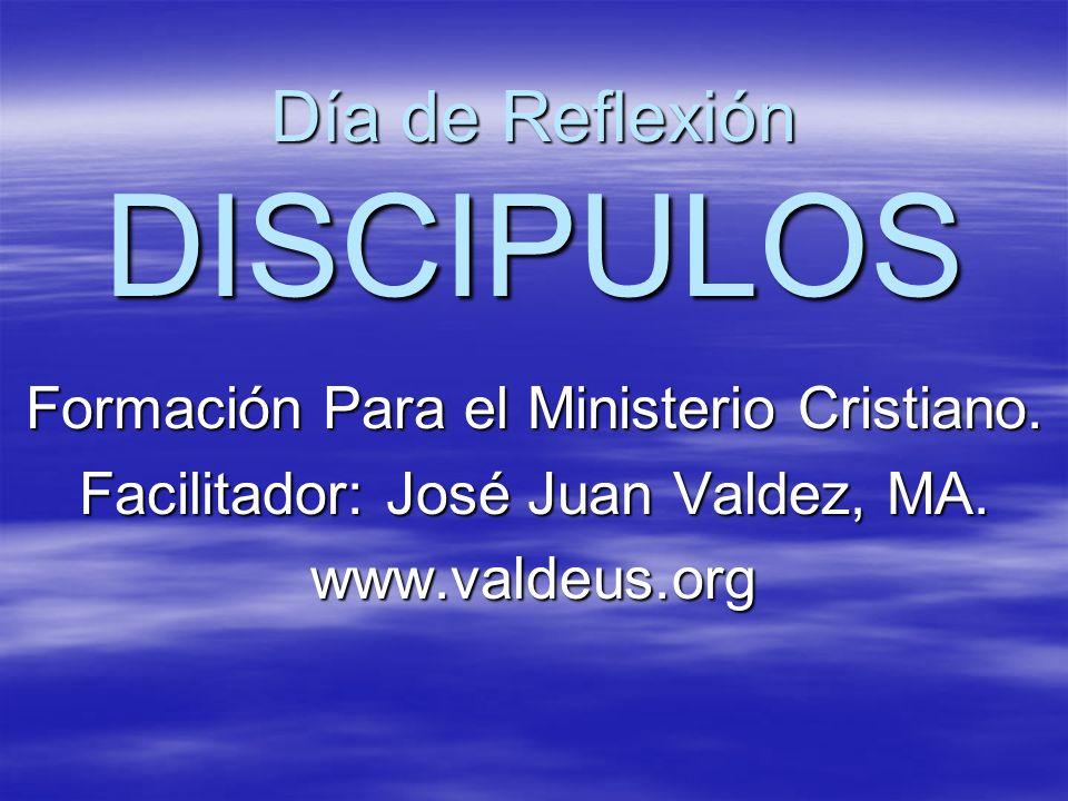 Día de Reflexión DISCIPULOS