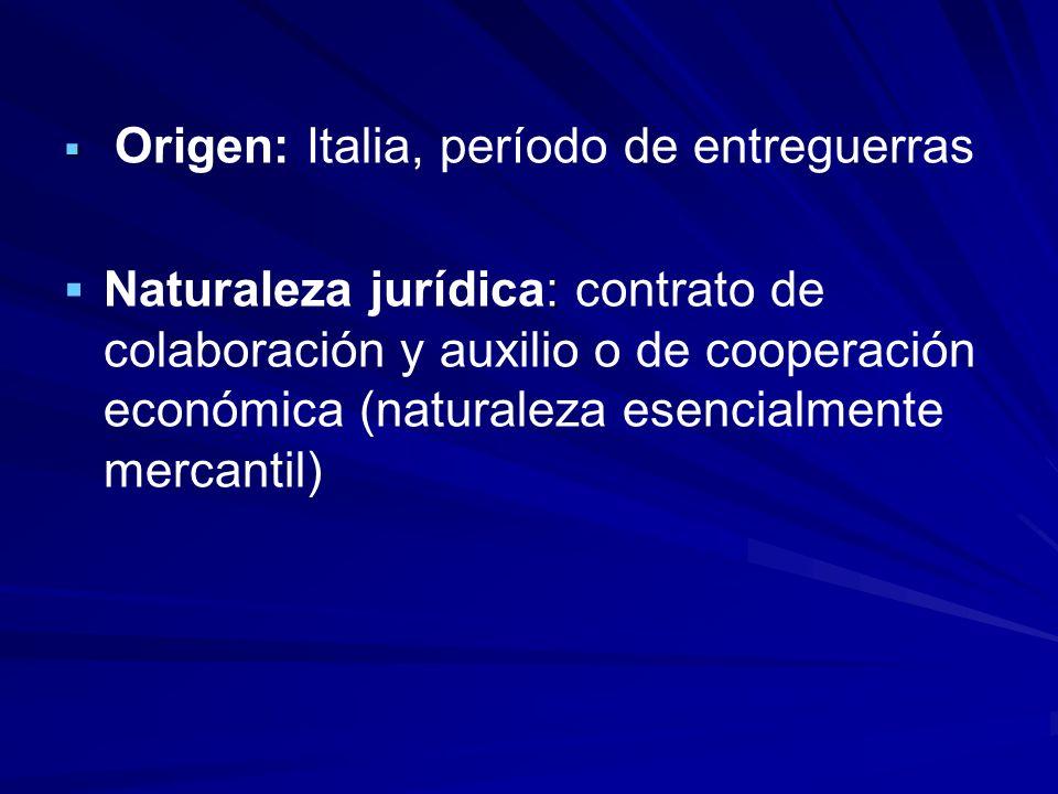 Origen: Italia, período de entreguerras
