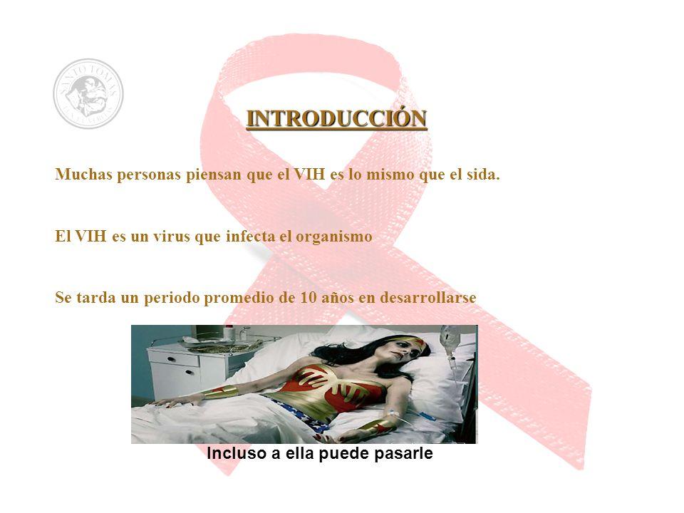 Muchas personas piensan que el VIH es lo mismo que el sida.