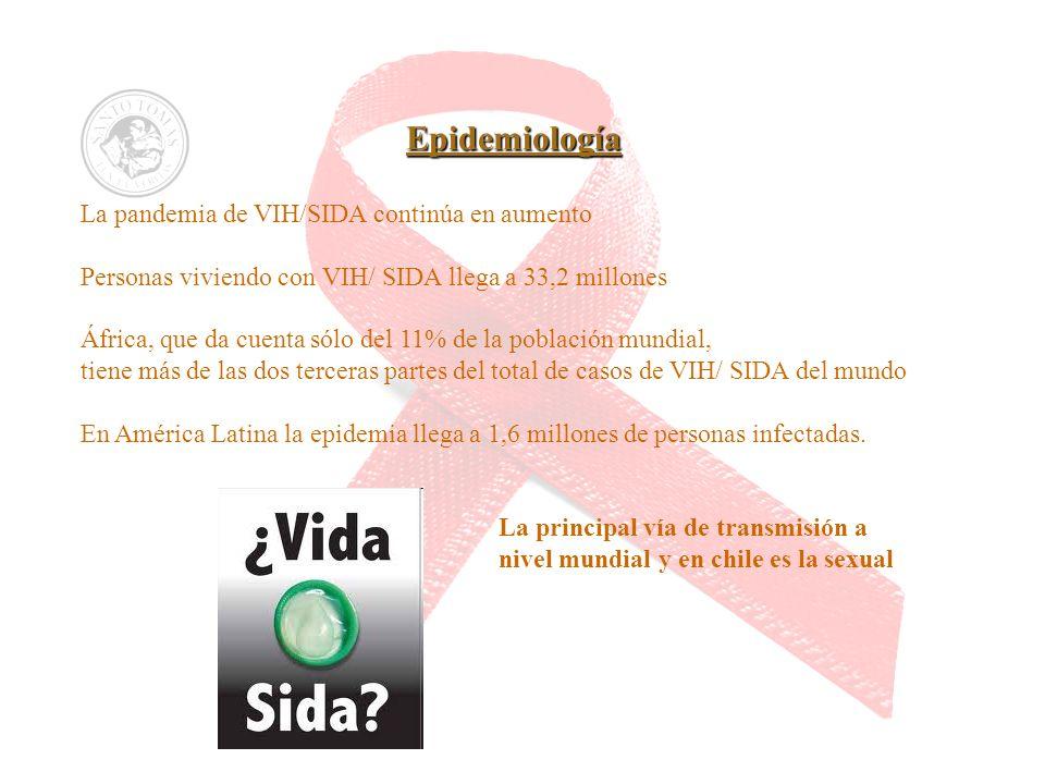 La pandemia de VIH/SIDA continúa en aumento