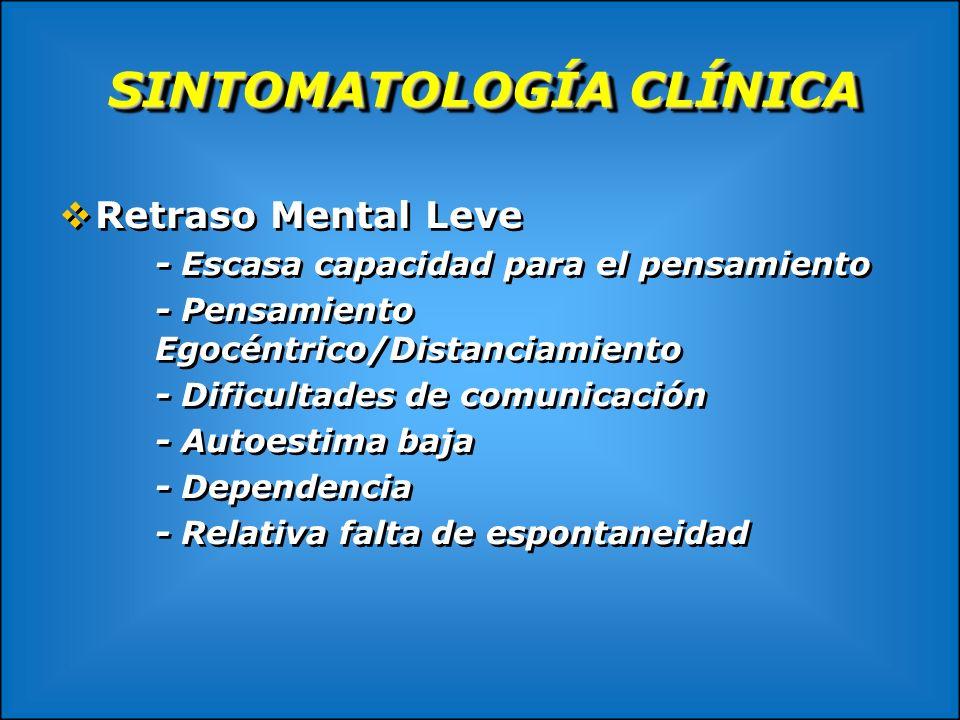 SINTOMATOLOGÍA CLÍNICA