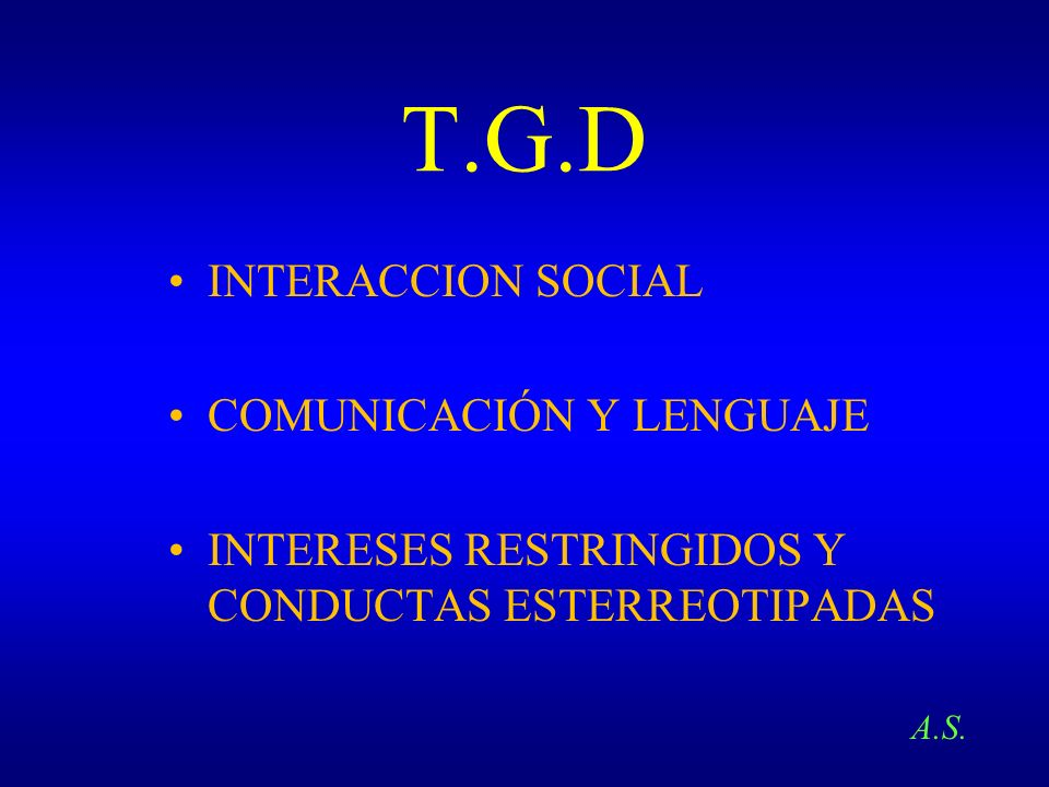 T.G.D INTERACCION SOCIAL COMUNICACIÓN Y LENGUAJE