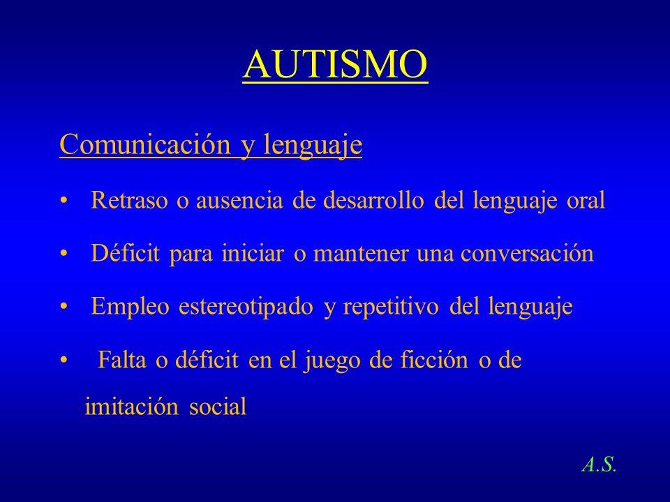 AUTISMO Comunicación y lenguaje