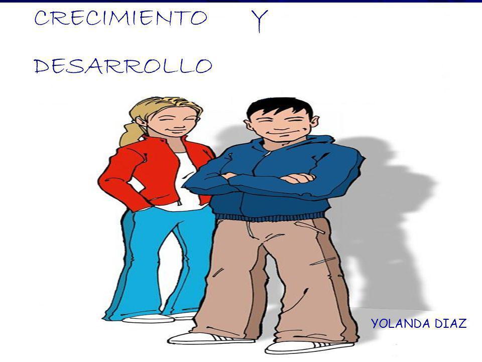 CRECIMIENTO Y DESARROLLO YOLANDA DIAZ