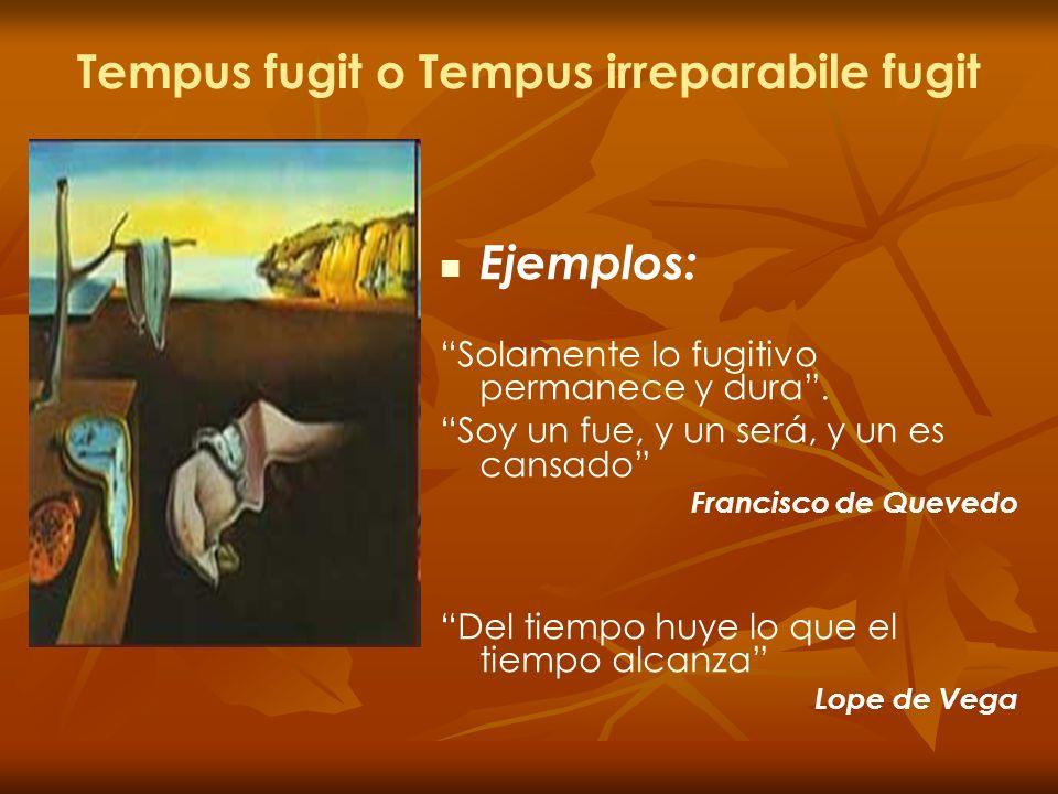 Tempus fugit o Tempus irreparabile fugit