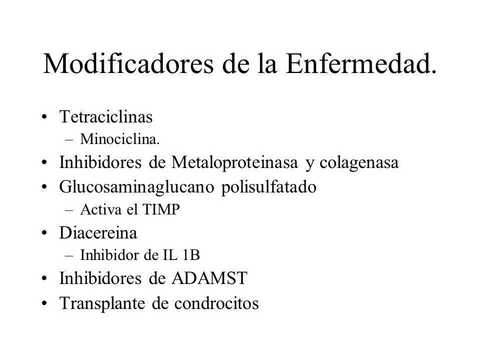 Modificadores de la Enfermedad.