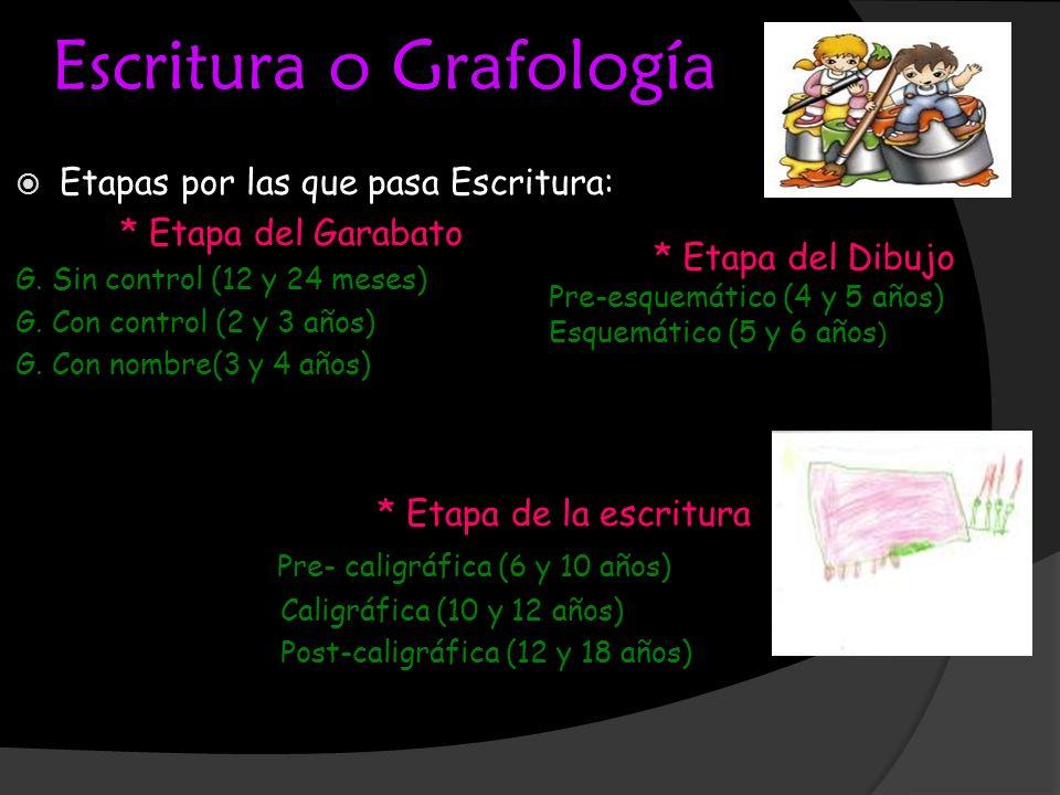 Escritura o Grafología