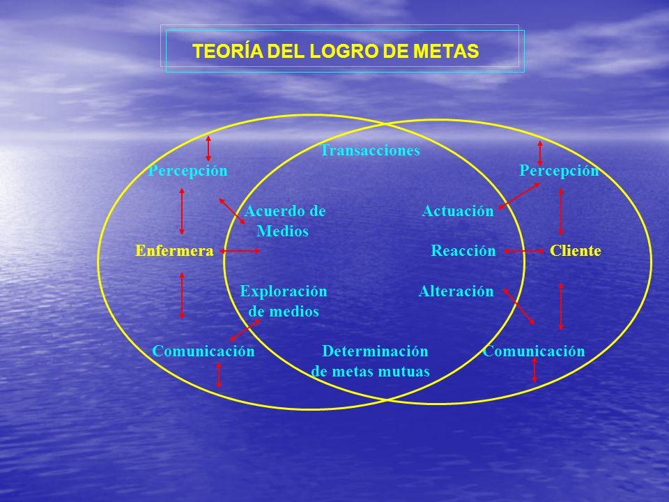 TEORÍA DEL LOGRO DE METAS