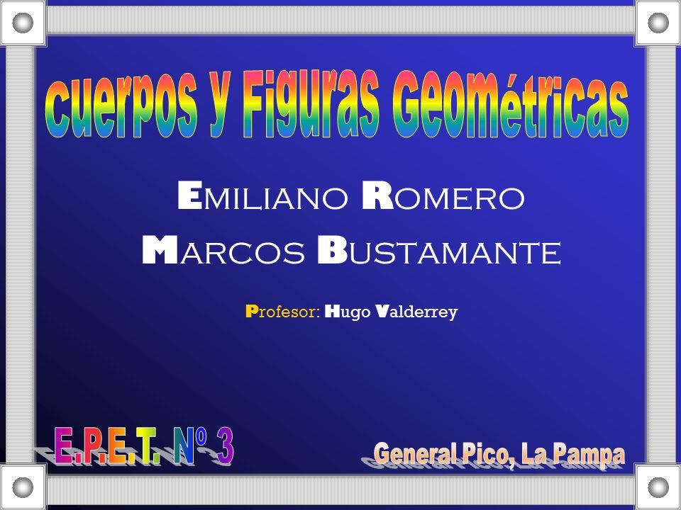 Emiliano Romero Marcos Bustamante Profesor: Hugo Valderrey