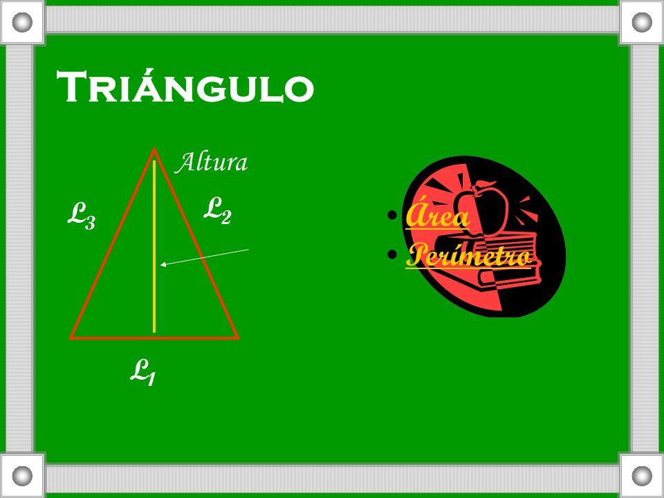 Triángulo Altura L2 L3 Área Perímetro L1