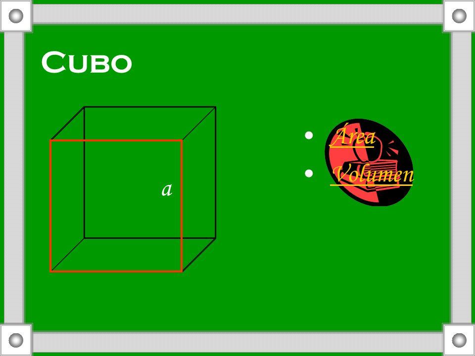 Cubo Área Volumen a