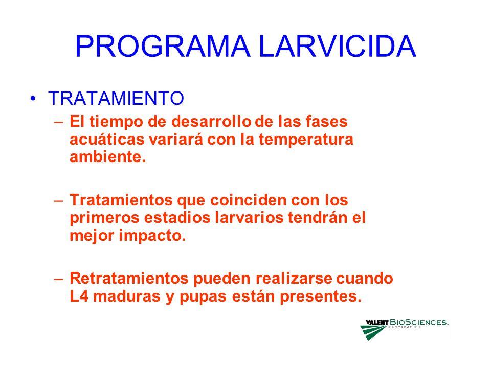 PROGRAMA LARVICIDA TRATAMIENTO