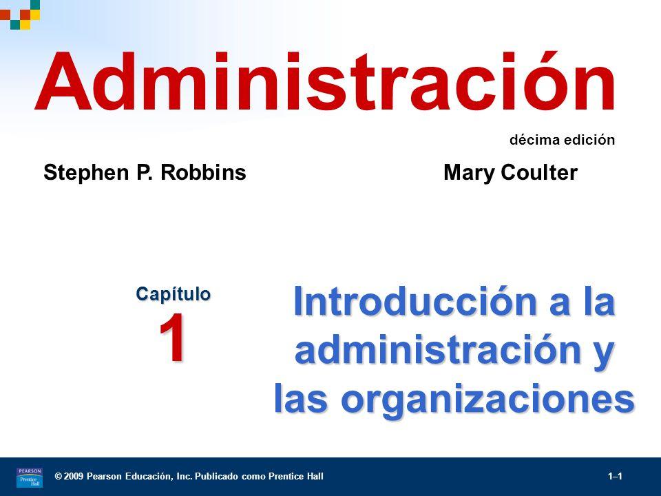 Introducción a la administración y las organizaciones