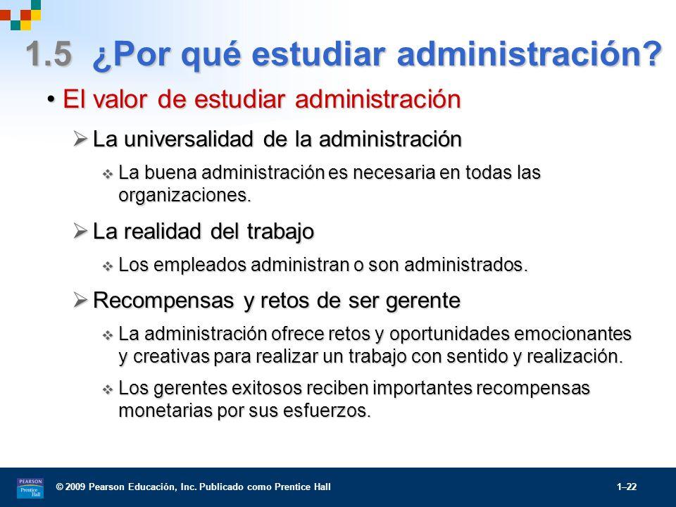 1.5 ¿Por qué estudiar administración