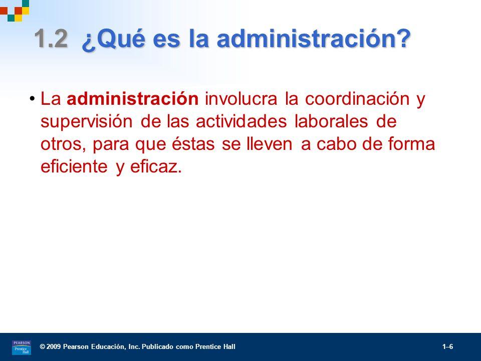 1.2 ¿Qué es la administración