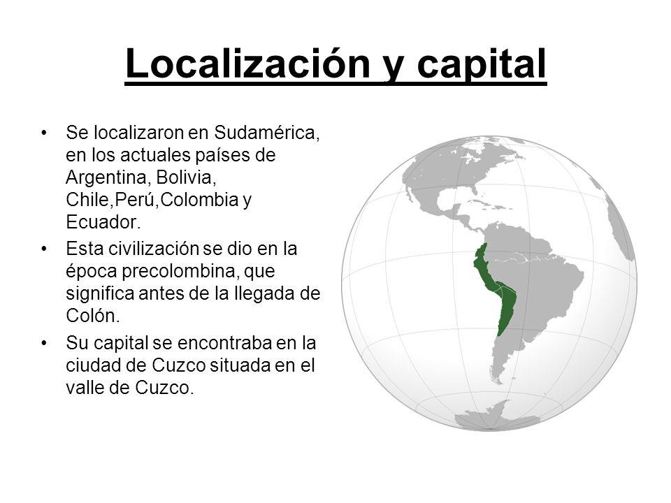 Localización y capital