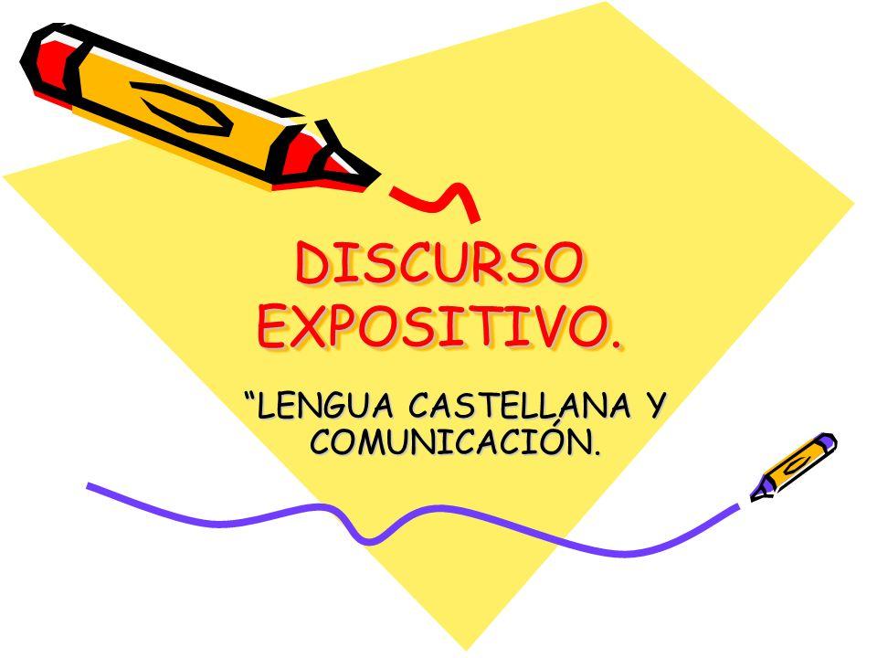 LENGUA CASTELLANA Y COMUNICACIÓN.