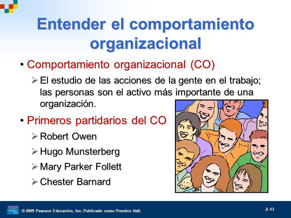 Entender el comportamiento organizacional