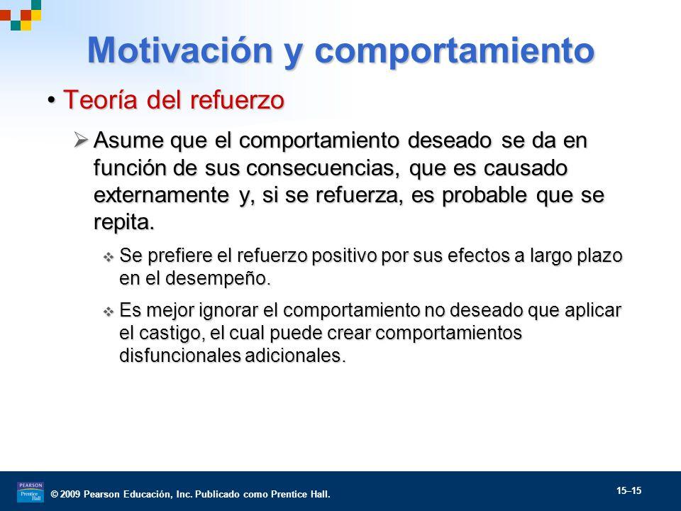 Motivación y comportamiento