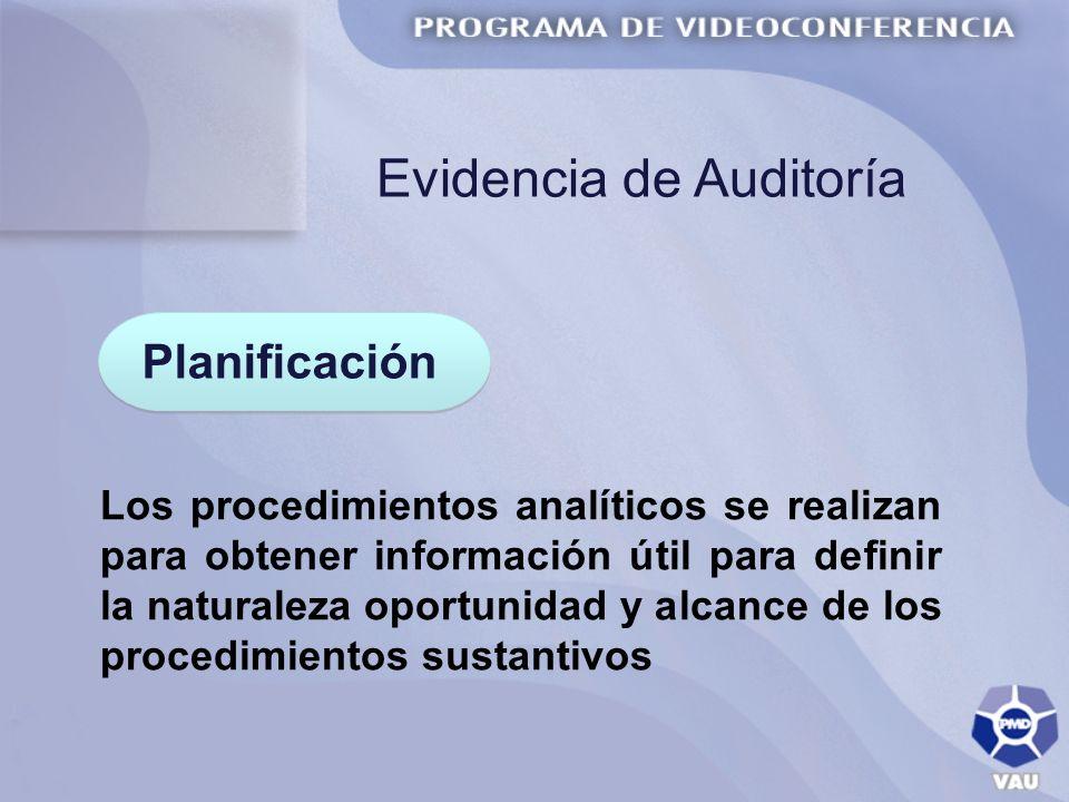 Evidencia de Auditoría