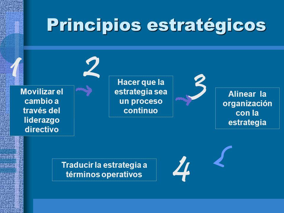 Principios estratégicos
