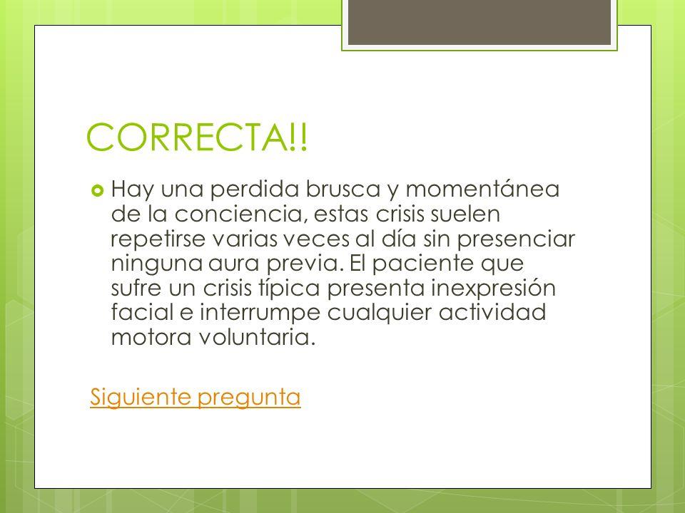 CORRECTA!!