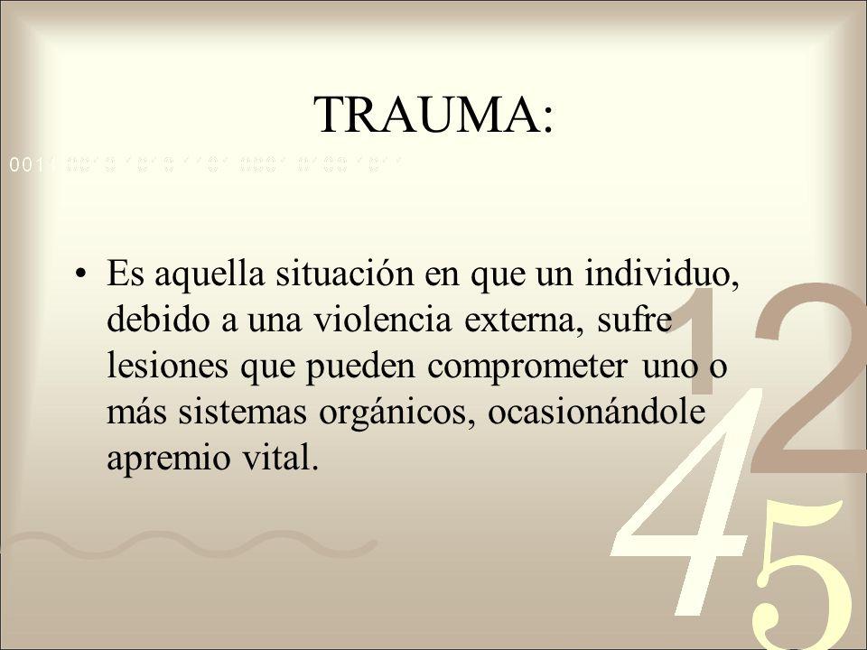 TRAUMA: