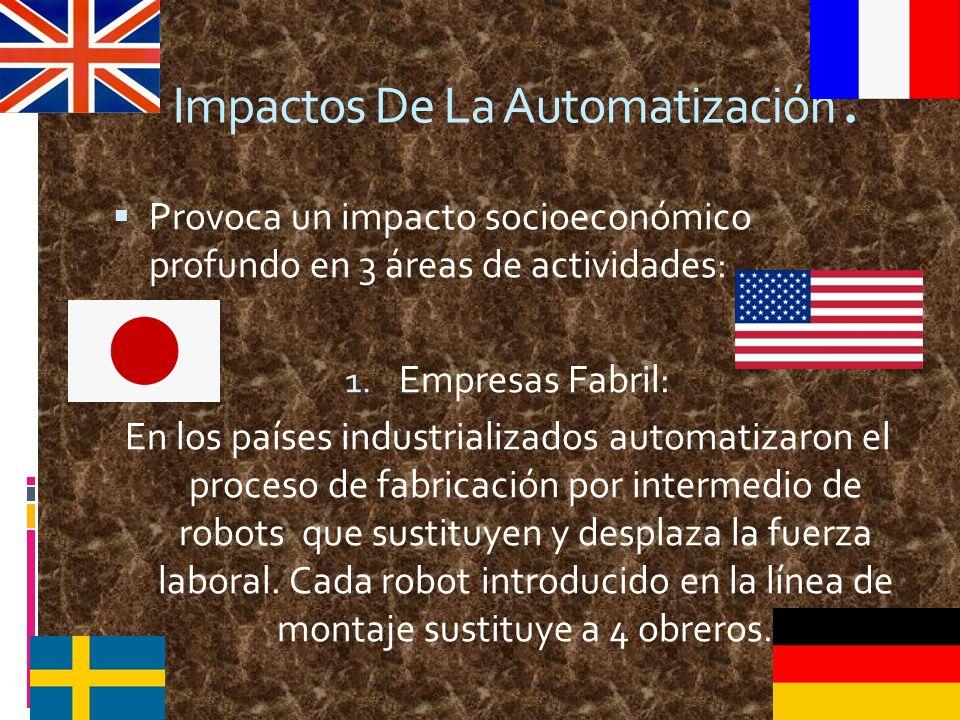 Impactos De La Automatización.