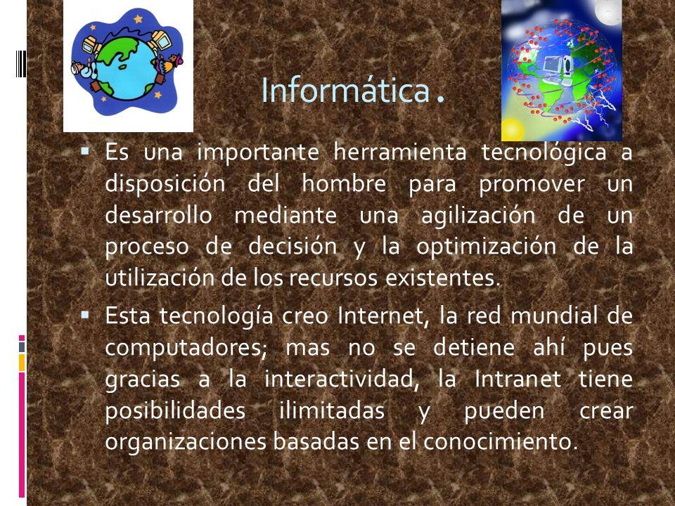 Informática.