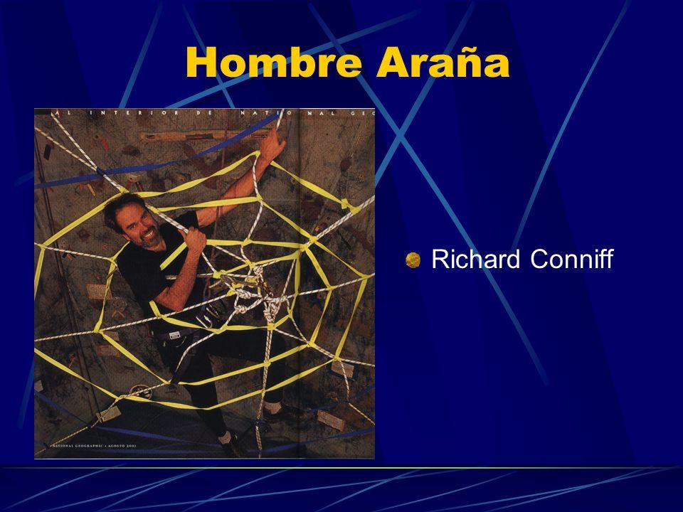Hombre Araña Richard Conniff
