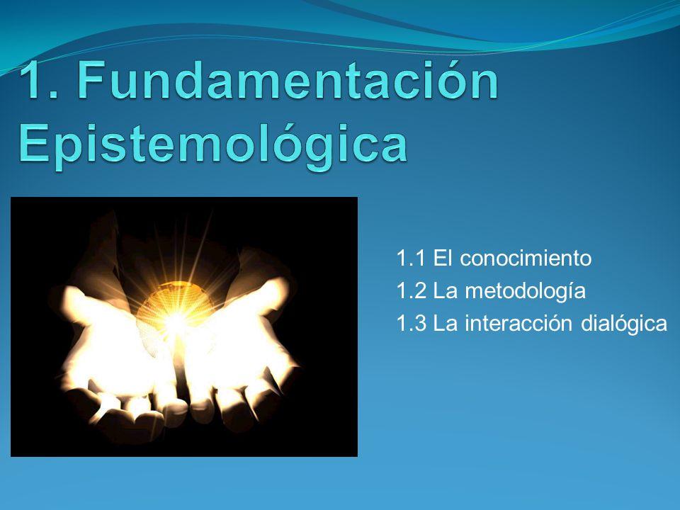 1. Fundamentación Epistemológica