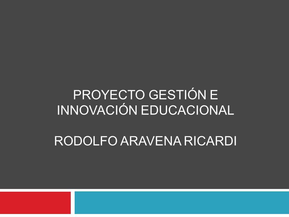 PROYECTO GESTIÓN E INNOVACIÓN EDUCACIONAL