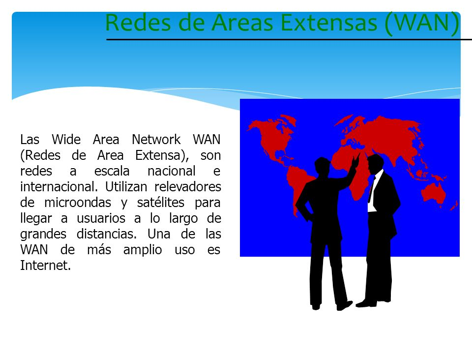 Redes de Areas Extensas (WAN)
