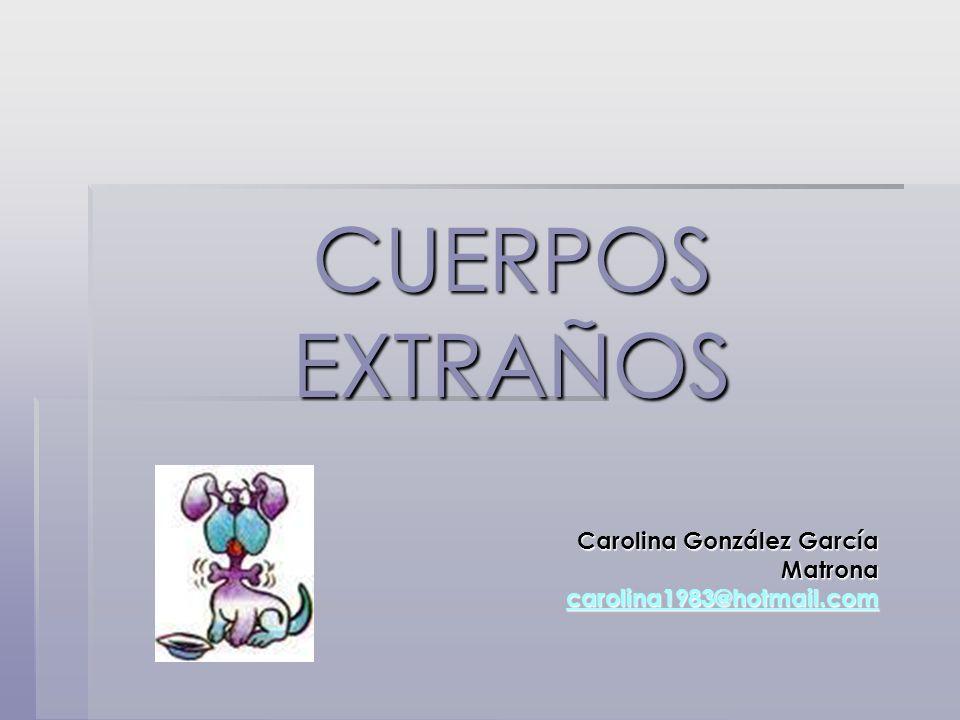 Carolina González García Matrona carolina1983@hotmail.com