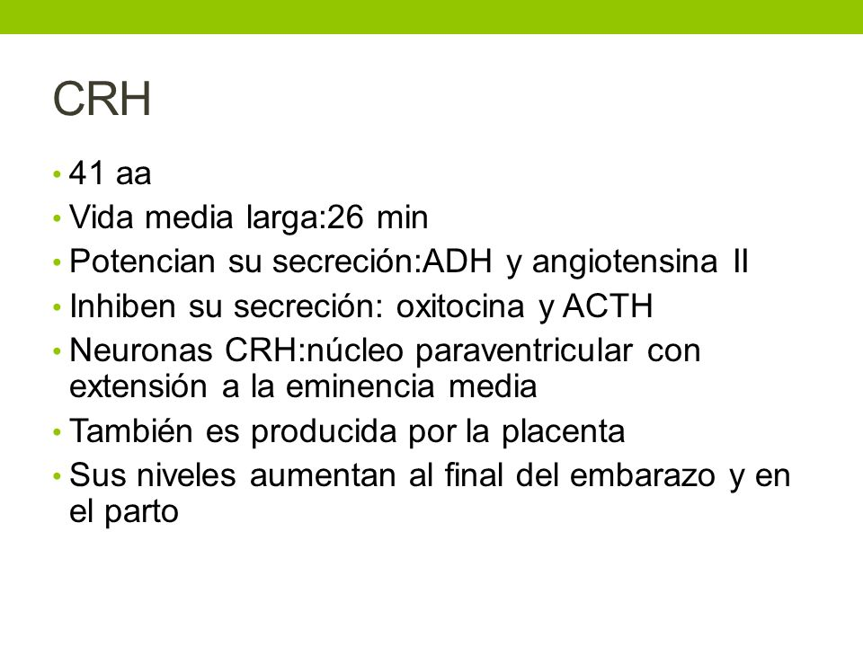 CRH 41 aa Vida media larga:26 min