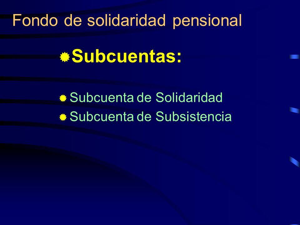Fondo de solidaridad pensional