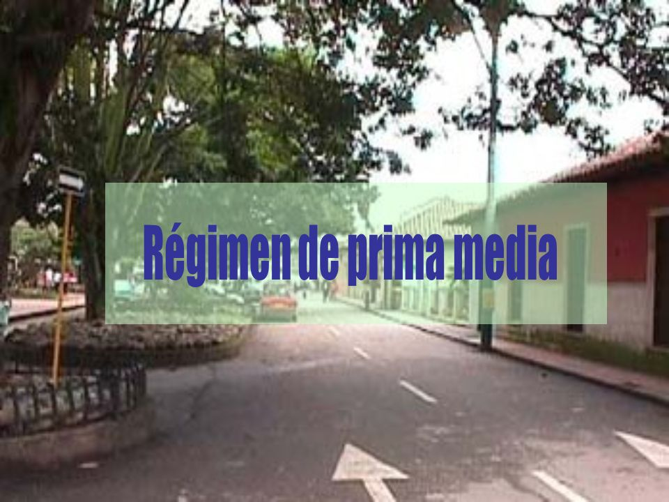 Régimen de prima media