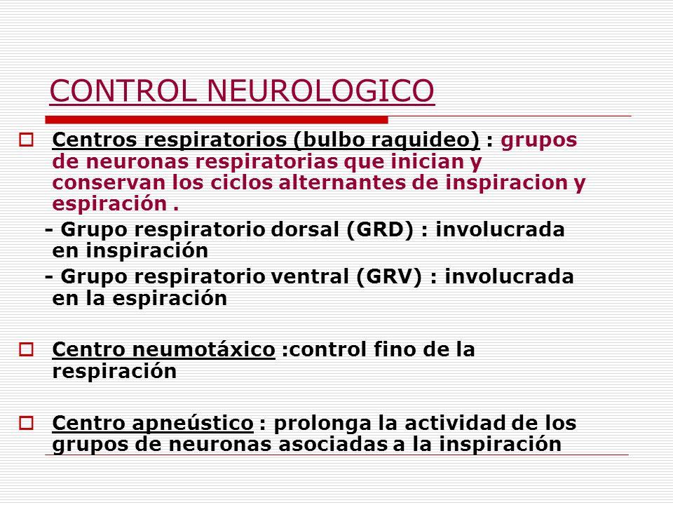 CONTROL NEUROLOGICO